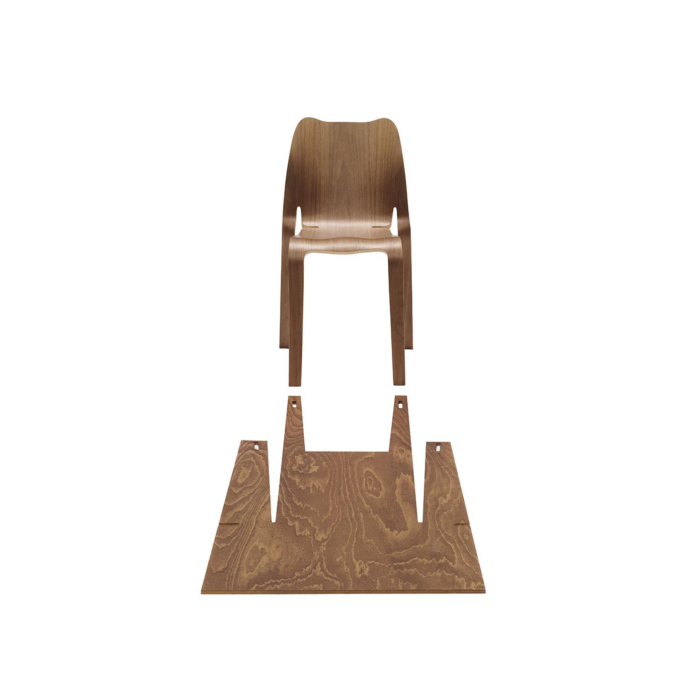 Reply chair dutch design daily for Dutch design chair karton