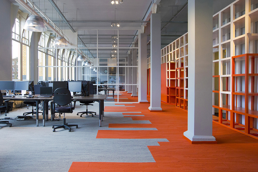 Interieur kantoor Sterk Werk - Dutch Design Daily