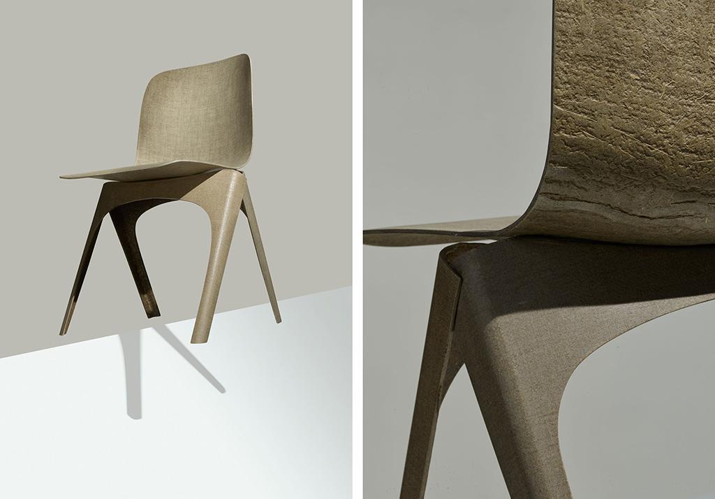 Flax chair dutch design daily for Dutch design chair karton