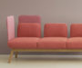 hm10w sofa with various heights
